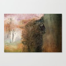 The First Howl Canvas Print