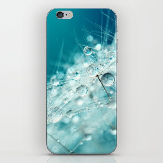 Dandy Starburst in Blue iPhone & iPod Skin