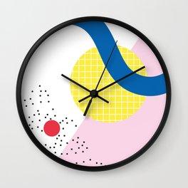 Memphis Series 03 Wall Clock