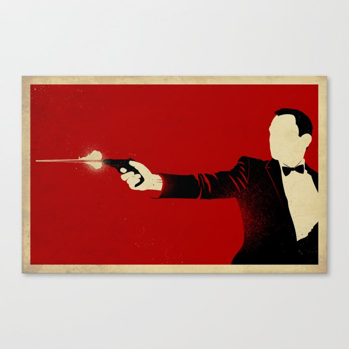 The Double Agent Canvas Print