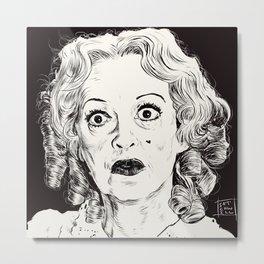 Bette Davis/Baby Jane Metal Print