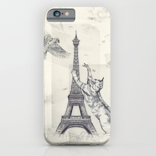 cat attack iPhone & iPod Case