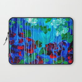 Abstract Flowers - No one knows her better Laptop Sleeve