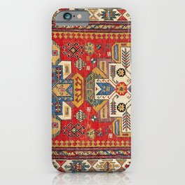 Daghestan Sumakh Northeast Caucasus Rug Print iPhone Case