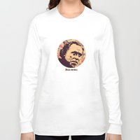 bukowski Long Sleeve T-shirts featuring Bukowski by f_e_l_i_x_x