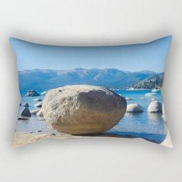 The Organic Placement of Nature Rectangular Pillow