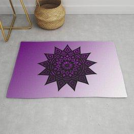 Purple Star | Tam Tam | Mandhala Rug