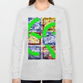 Collage with spools effect Long Sleeve T-shirt