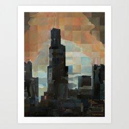 Sears at Sunrise Art Print