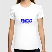 panther T-shirts featuring Panther by Brian Raggatt