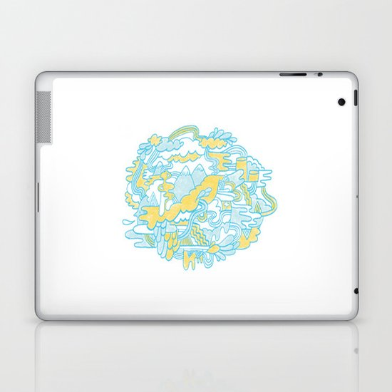 Spaghetti Mountain Laptop & iPad Skin