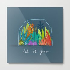 Let it grow Metal Print