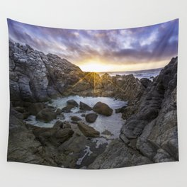 Tide Pool At Dusk Wall Tapestry