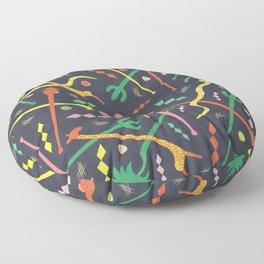MCM Swizzle Floor Pillow