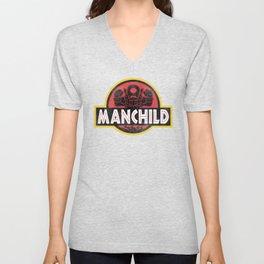 Manchild Park Unisex V-Neck