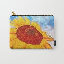 Hello Sun Sunflower  Art Carry-All Pouch