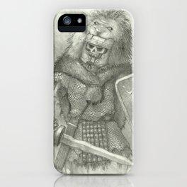 Zombie Roman Legionnaire iPhone Case