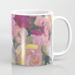 Magenta Floral Bouquet Coffee Mug