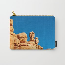 The Totem Heads of Red Canyon Carry-All Pouch
