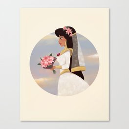 Wedding Jasmine Canvas Print