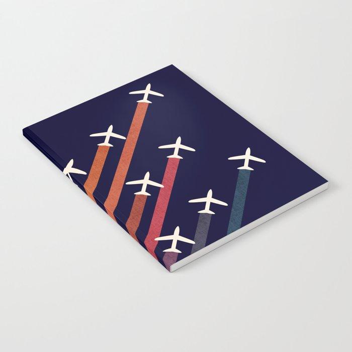 Aerial acrobat Notebook