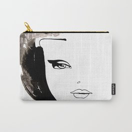 Beauty face Carry-All Pouch