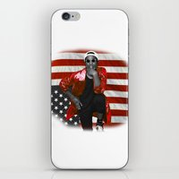 asap rocky iPhone & iPod Skins featuring ASAP Rocky American Flag by JuanTon
