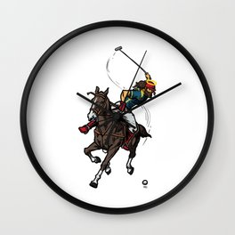 Cool Jesus Polo Gift Idea Wall Clock