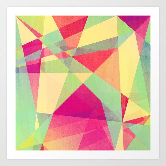 Summer Abstract Art Print