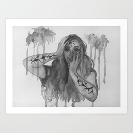 Hidden Secrets 1 Art Print