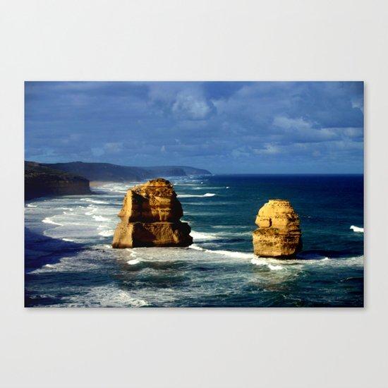 Limestone Rock Stacks & Headlands Canvas Print