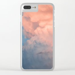 upload to the cloud Clear iPhone Case