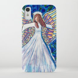 Angel of many colors iPhone Case