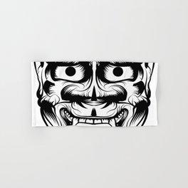 Hannya Art Mask Hand & Bath Towel