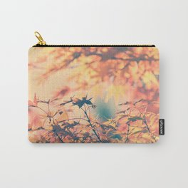 SUBTLE MAPLE - AUTUMN PINK Carry-All Pouch