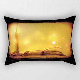 By Candlelight Rectangular Pillow