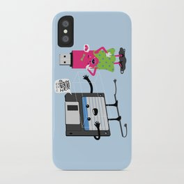 I need more space iPhone Case