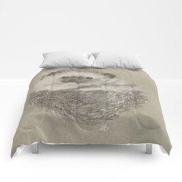 Peekaboo Hedgehog Comforters