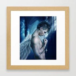 tears of an angel Framed Art Print