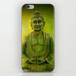 Happy Buddha 1 iPhone Skin
