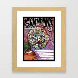 Swampland. Framed Art Print