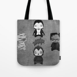 A Boy - Universal Monsters Black & White édition Tote Bag