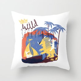 WILD RUMPUS Throw Pillow