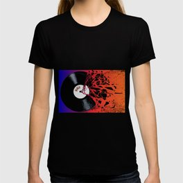 Shattered Blues Record T-shirt