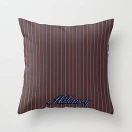 Doctor Who - Tenth Doctor Suit Brown Throw Pillow