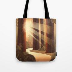 Redwoods Tote Bag
