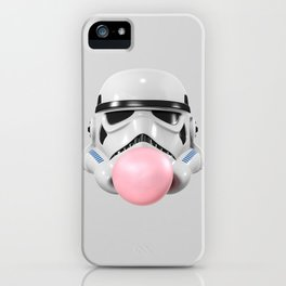 Stormtrooper Bubble Gum iPhone Case