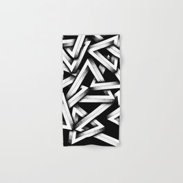 Impossible Penrose Triangles Hand & Bath Towel