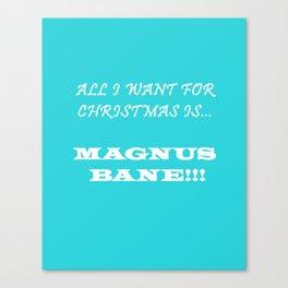 Magnus Canvas Print