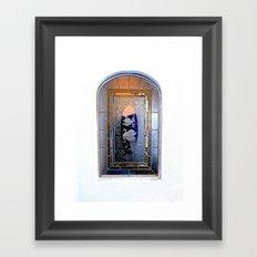 Window, Encinitas, California Framed Art Print
